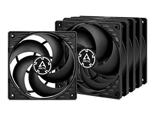 ARCTIC P12 PWM PST Value Pack - 120 mm Case Fan, Five Pack, PWM Sharing Technology (PST), Pressure-optimised, Very quiet...
